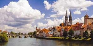 Sail the celebrated Danube and visit historic cities such as Regensburg during your cruise