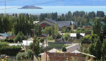Day 1:The town of El Calafate on the shore of Lago Argentino