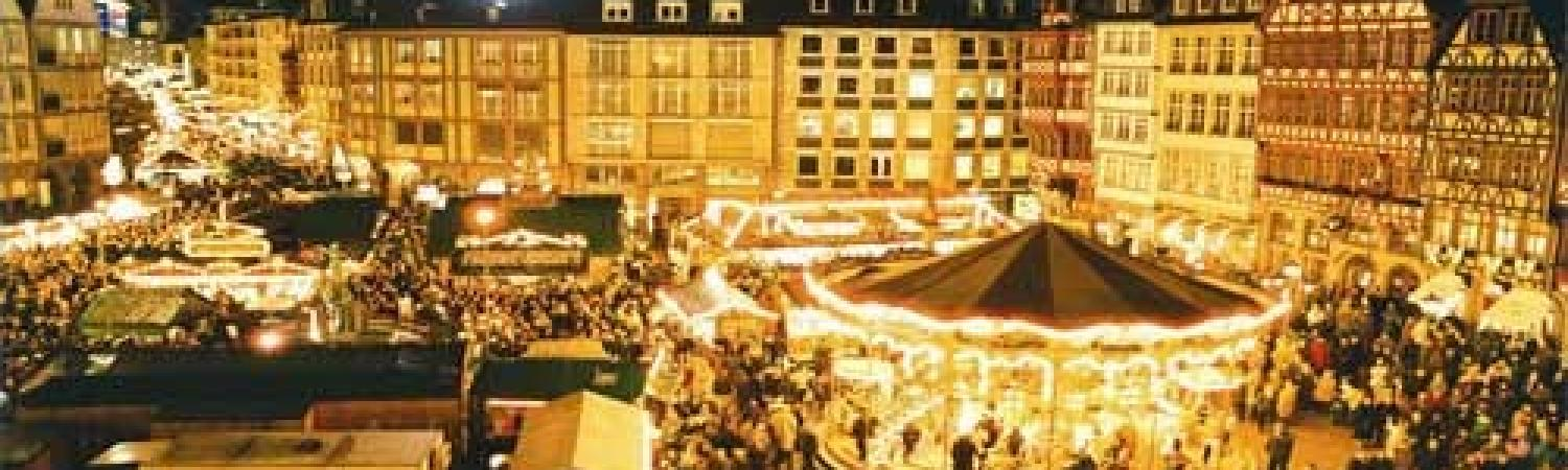 Visit the bustling Christmas market in Germany for a fantastic holiday celebration