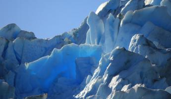 Day 5: The iridescent blues of Grey Glacier