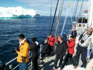Sailing the Arctic waters