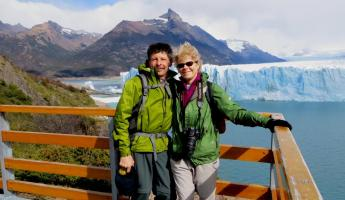 Day 6: From the walkways overlooking Perito Moreno glacier