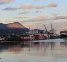 Day 9: The port at Ushuaia