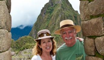 John and Teresa at Machu Picchu