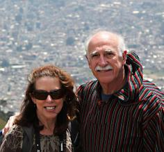 Teresa and John in Quito