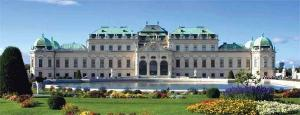 Visit historic sites such as Vienna\s Belvedere Palace while on your European luxury cruise