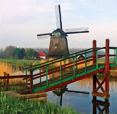Discover Holland\s tranquil landscape on your European culture cruise