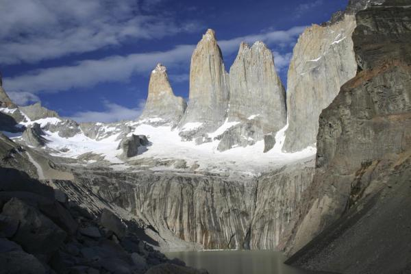 "The infamous ""towers"" in Torres del Paine"