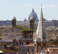 Vatican from Spanish Steps