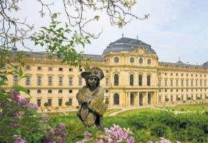 Visit historic sites such as the Residenz Palace in Wurzburg, Germany, on your culture cruise of Europe