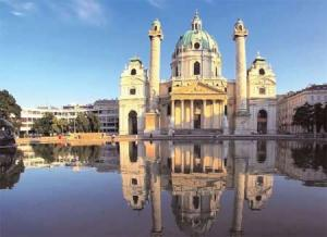 Visit Vienna's celebrated sites, including the famed St. Charles Cathedral