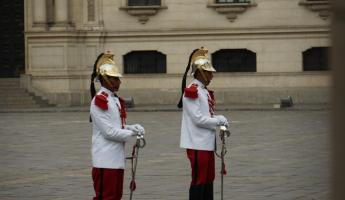The Guards at the Capital