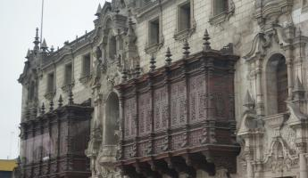 Balcony Architecture  -  Lima