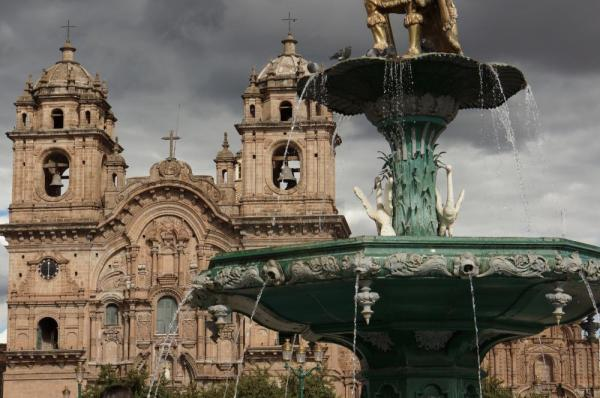 The Dominican Cathedral - Cusco
