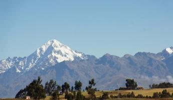 On the road to the Sacred Valley - high plains