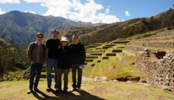The crew at Chinchero