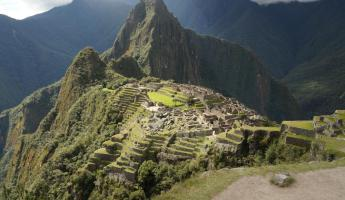 Machu Picchu from the back side