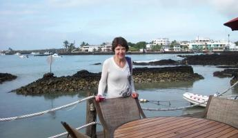 Barb at the Pier