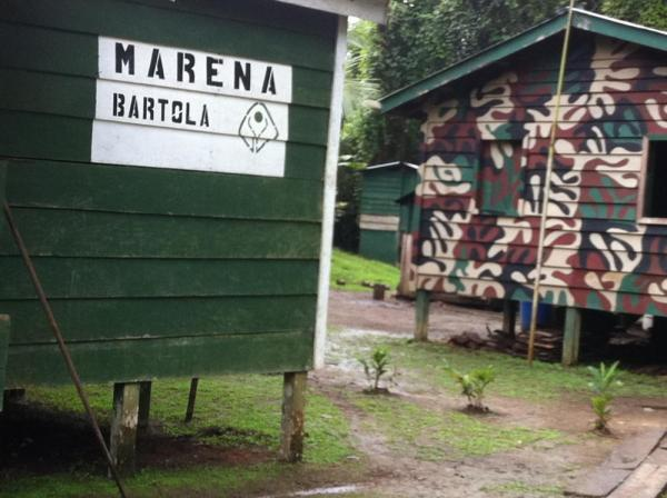 Arriving at Bartola