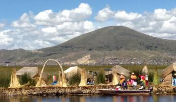 The Floating Islands, Lake Titicaca