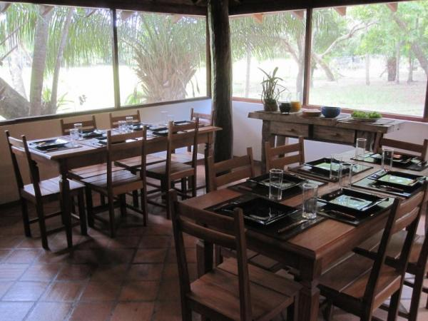 Enjoy fine dining at Embiara Lodge on your Brazil tour