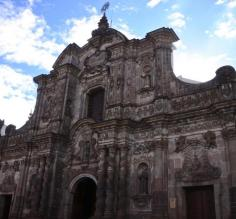 Baroque cathedral, Quito
