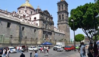 Puebla's city center