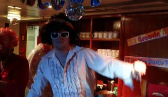 Disco night on Sea Adventurer