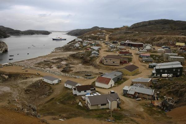 Visit Arctic villages such as Kimmirut while on your expedition cruise