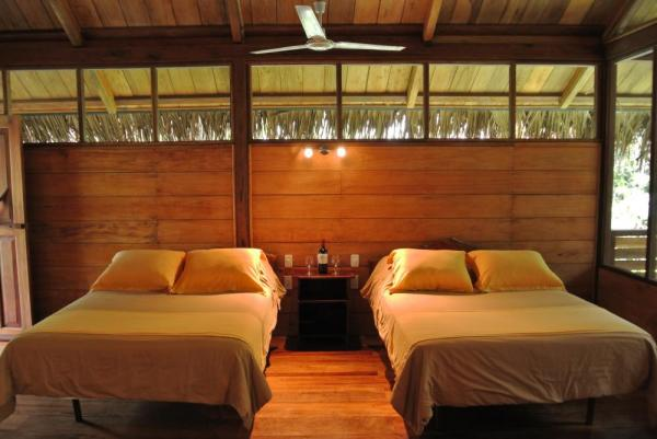Elegant and spacious bungalows at Sacha Lodge