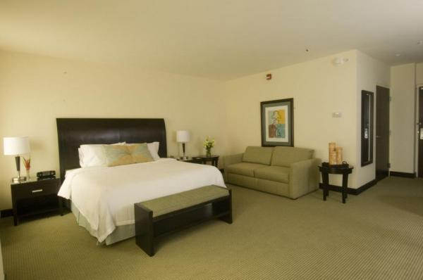 Stay in a comfortable and spacious suite at Hilton Garden Inn