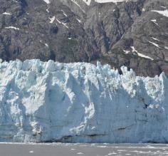 Beautiful blue ice at Tracy Arm
