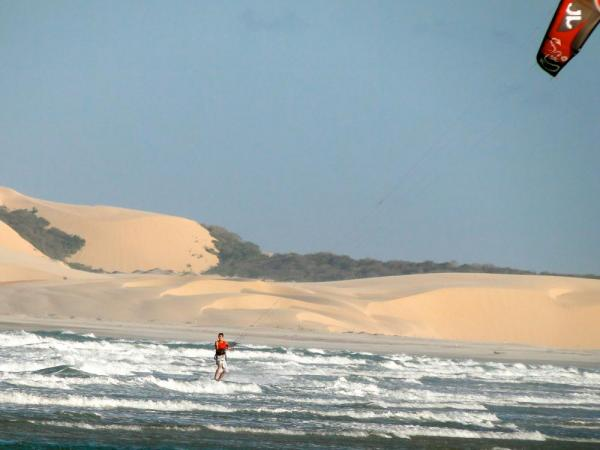 Sea and sand in Jericoacoara