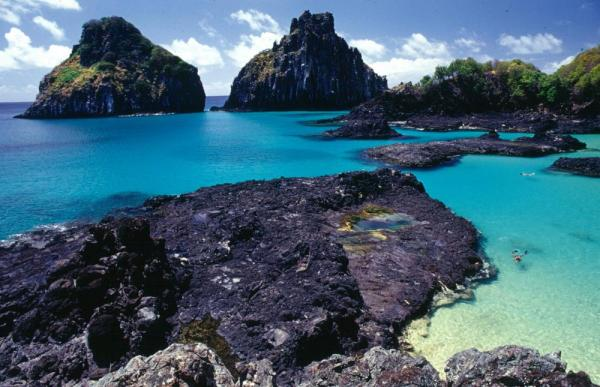 Crystalline waters of Fernando de Noronha