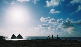 Enjoy gorgeous sunsets in Noronha's island paradise