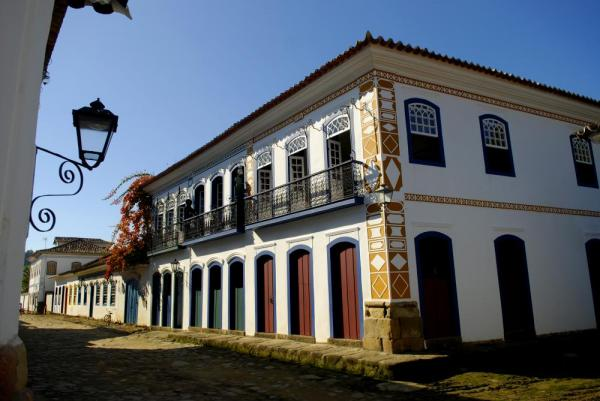Paraty's well-preserved colonial architecture