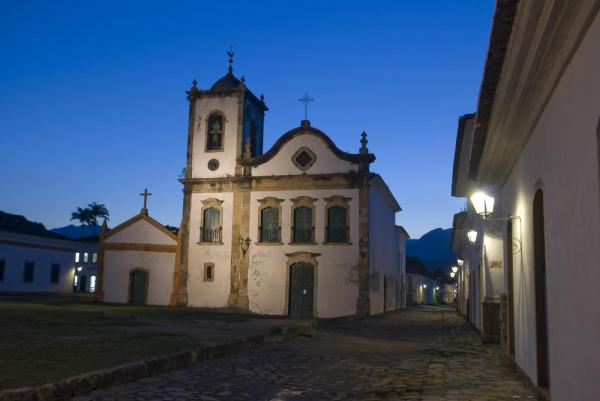 Illuminated colonial Paraty