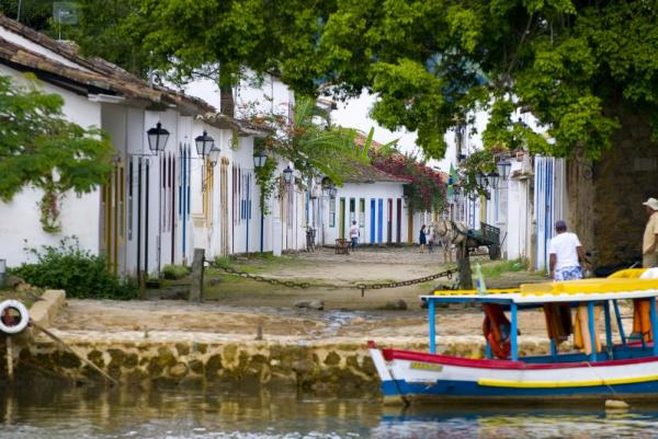 Stroll through Paraty's charming, iconic streets