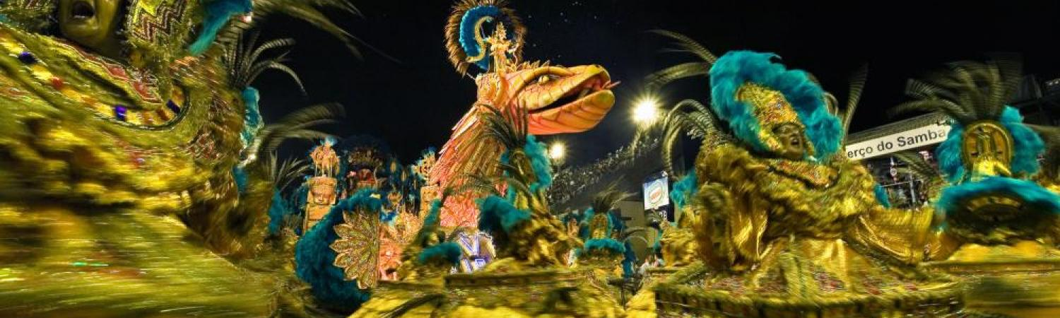 Experience carnaval during your Brazil tour