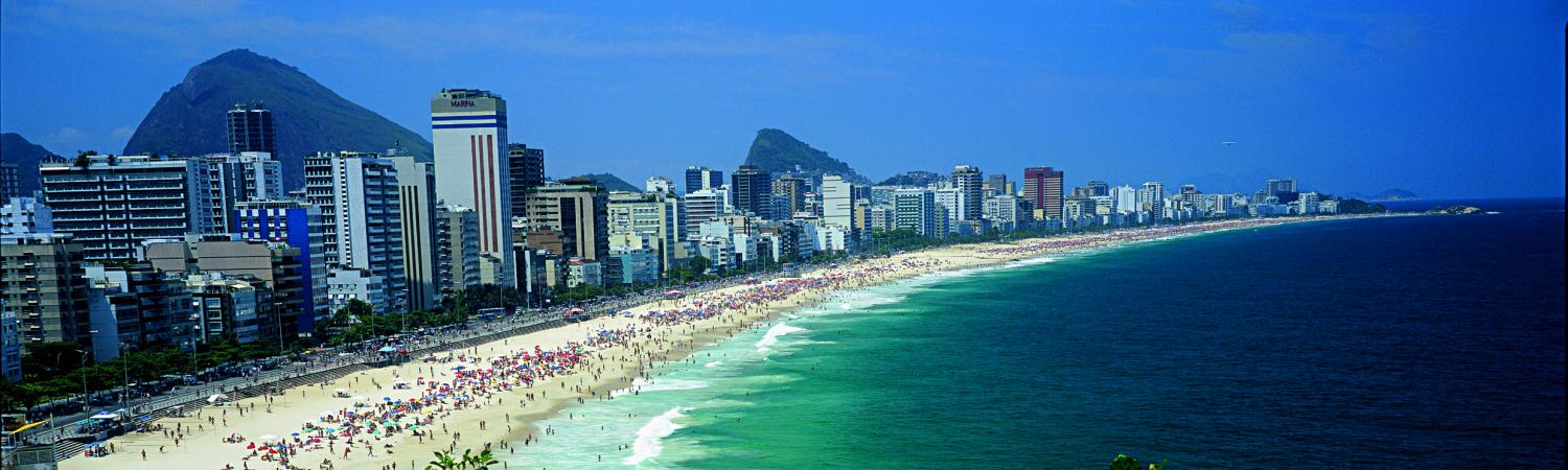 Relax at Ipanema Beach during your vacation in Rio de Janeiro
