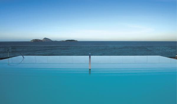 Soak in the sun from Hotel Fasano Al Mare's pool