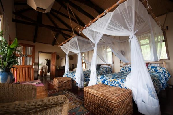 Virunga Lodge Room