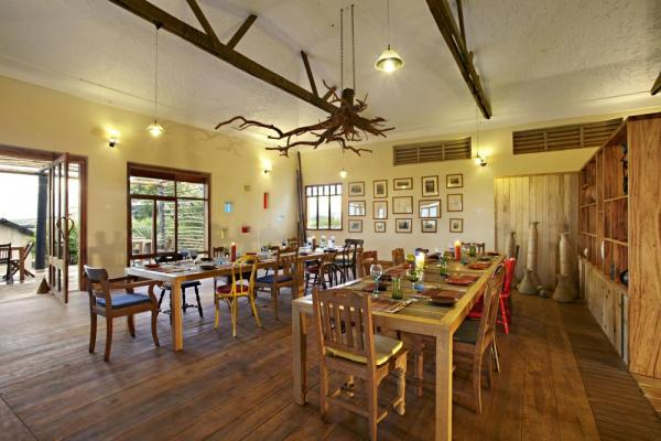 Kyambura Gorge Lodge Dining Room
