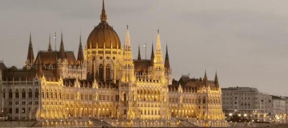 Parliament Building at night, Budapest