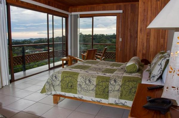 Soak in the views of Costa Rica from your room at Ficus Sunset Suites
