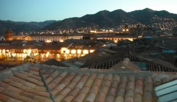 Dusk at Cusco