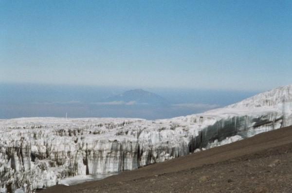 Ice Fields of Mount Kilimanjaro