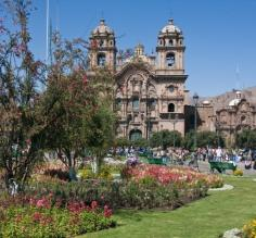 Cusco town square