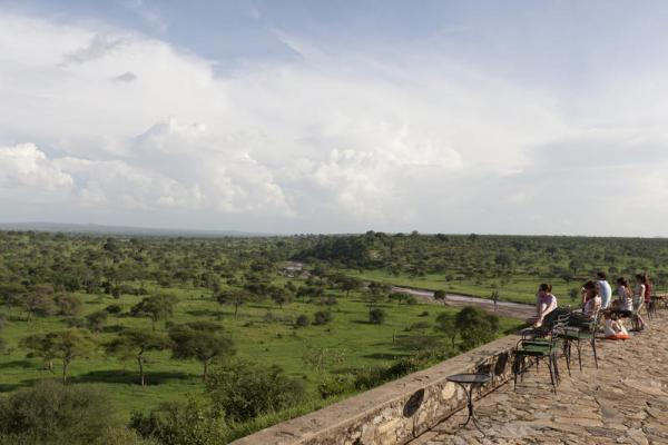 Enjoy the endless view at the Tarangire Lodge