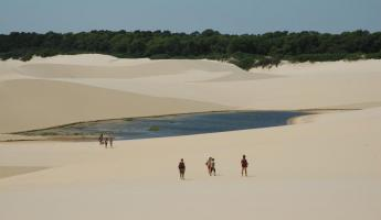 The sand and lagoons of Lencois Maranhenses